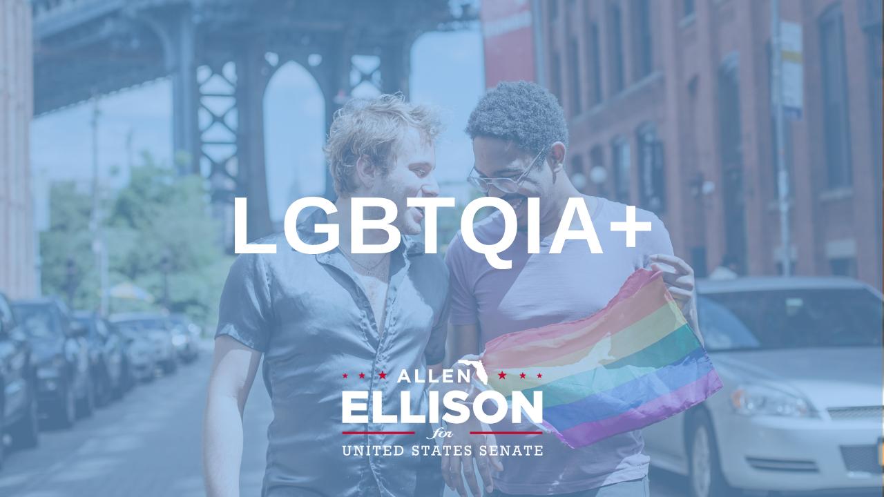 LGBTQIA+ <br /> Community